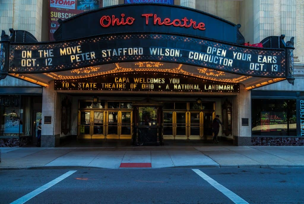 Ohio Theatre Front View
